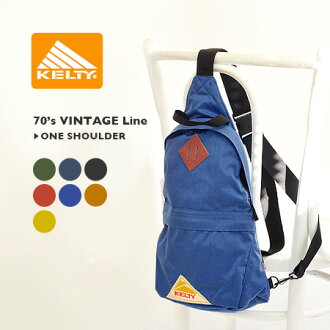 Vintage ケルティー classic line from ワンショルダーボディ bags! In the authentic outdoor Cordura nylon specifications recommended ◎ in mens & ladies unisex design recommended ◆ KELTY ( Kelty ) 70's VINTAGE Line ONE SHOULDER