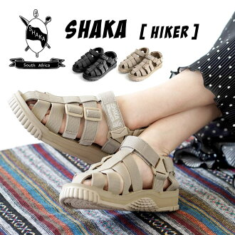 "The model ""hiker"" that a South African traditional pattern and tape of the coloration cover the back. Three points of limit 》 of / men / Lady's /431000 ◆☆ sale ☆ SHAKA (Shaka) HIKER 《 one for / women for the unisex sports sandals / import / man"