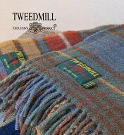 Tweedmill(ツイードミル)パッチワークウールチェックストール