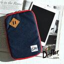 【メール便可10】強度と耐久性抜群の1000デニールコーデュラナイロンのタブレットケース!保護パッド入りでアイパッドミニが収納可能 タブレットカバー タブレットPC◆Drifter(ドリフター)iPad miniケース