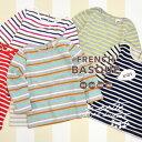 110/120/130/140。本物にこだわったバスクシャツをお子様にも♪親子リンクコーデが楽しめるトドラーからジュニアまで4サイズ展開の子ども服長袖ロンTee。クレイジー含む新色追加!