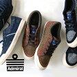 【送料無料】UK4/UK5/UK6/UK7 定番の人気モデル「イノマー」の新素材!高級生地メーカー「MOON社」のツイード生地をたっぷり使用、ローカットスニーカー レディース 婦人靴 運動靴 黒 ブラック ◆Admiral(アドミラル)INOMER 2 MOON