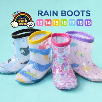 左和右邊框模式 & 時尚的色彩小碎花圖案不同的圖案。 選擇從 • 兒童女孩男孩女孩男孩初中雨衣雨靴的靴雨鞋花圖案粉色藍色 6751555 ◆ 雨靴 [花 & 瘋狂的邊境,] [孩子]