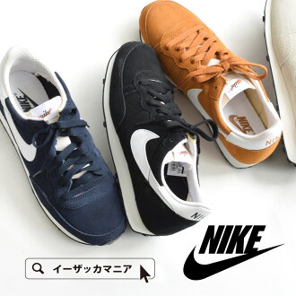 耐克 23.0 釐米 ~ 26.0 釐米 ! 婦女的鞋鞋低切的運動運動耐克婦女的慢跑鞋走路 pettanko pettanko 步行復古黑白色 [女性耐克 (Nike) 運動鞋 [挑戰]