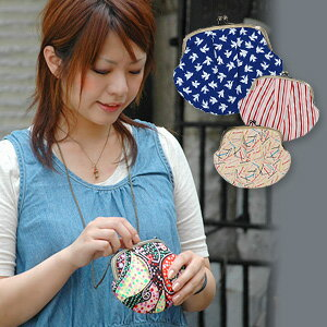 A wallet of our store オリジナルファブリカ which can taste a something atmosphere again if I attach a chain and hang it on a neck! ◆ Fablica good to yukata kimono-style of the summer fireworks display and festival: Select fabric pouch pochette
