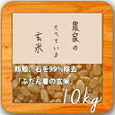 米 10kg 送料無料 玄米食 調整済 【29年産 農家の食べているおいしい玄米10kg】オリジ