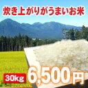 値段以上のおいしさ炊き上がりがうまいお米 30kg (白米30キロ)【がんばろう!青森】