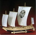 江戸時代の帆掛櫓漕船。 徳川家康の護衛を勤めた軍船。