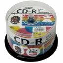 HI-DISC ハイディスク音楽用CD-R 80分 700MB 32倍速対応 50枚 HDCR80GMP50(2312072)