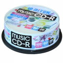 RITEK ライテックCD-R音楽用WPBL20枚 CDRMU80.20SP.B(2389866)