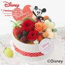 【母の日フラワーギフト】ディズニー プリザーブドフラワー「Mom's Cake〜ハピネスミッキー〜」