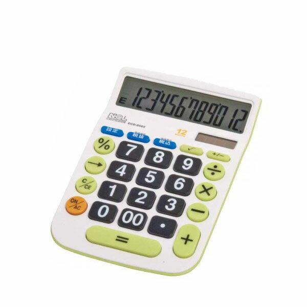 10000円以上送料無料 ナカバヤシ 電卓デスクトップ大型キータイプM ECD-8502G 【文具・玩具 レビュー投稿で次回使える2000円クーポン全員にプレゼントアイデア文具】
