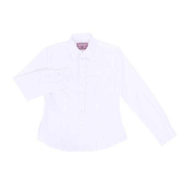 10000円以上送料無料制服コスプレ衣装シャツホワイトMサイズレディース154cm〜162cm洗える