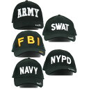 【送料無料】ミリタリーベースボールキャップ HC018NN【SWAT】 ホビー・エトセトラ ミリタリー ヘルメット・帽子 レビュー投稿で次回使える2000円クーポン全員にプレゼント