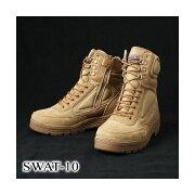10000円以上送料無料 SWAT-10 サイドジッパーブーツ レプリカ6W(24cm) ホビー・エトセトラ ミリタリー ブーツ・靴 レビュー投稿で次回使える2000円クーポン全員にプレゼント