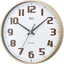 5000円以上送料無料 フェリオ カラーウォールクロック チュロス FEW182 IV-Z アイボリー 家電 測定器 時計・腕時計 レビュー投稿で次回使える2000円クーポン全員にプレゼント