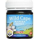 健康食品 ローヤルゼリー・プロポリス ハチミツ類 WildCape ニュージーランド産マヌカハニー 5+UMF 250g