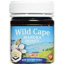 健康食品 ローヤルゼリー・プロポリス ハチミツ類 WildCape ニュージーランド産マヌカハニー 10+UMF 250g