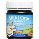 健康食品 ローヤルゼリー・プロポリス ハチミツ類 WildCape ニュージーランド産マヌカハニー 15+UMF 250g