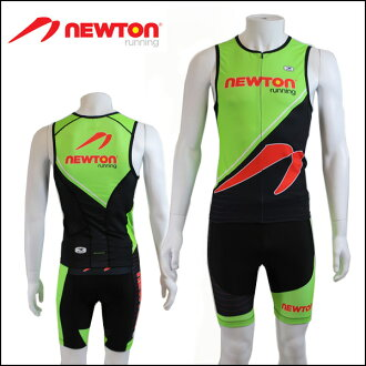 Limited model nttw-grn try wear NEWTON RUNNING TRI WEAR GREEN/MENS/ICQ04 ICS82