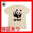 wwf-002【WWF/世界自然保護基金】Tシャツ S/S TEE WWF/LOW WHITE アイボリー パンダ【メール便対応】
