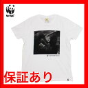 wwf-005【WWF/世界自然保護基金】Tシャツ S/S TEE NATURE THRIV/WHT チンパンジー【メール便対応】