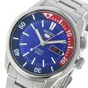 10000円以上送料無料 セイコー SEIKO セイコー5 SEIKO 5 自動巻き メンズ 腕時計 SRPB25K1 ブルー/レッド  レビュー投稿で次回使える2000円クーポン全員にプレゼント
