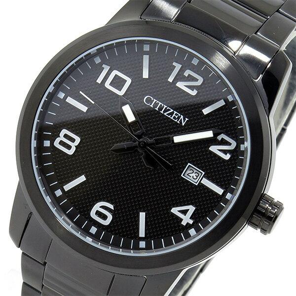 レビュー投稿で次回使える2000円クーポン全員にプレゼント 直送 シチズン CITIZEN クオーツ メンズ 腕時計 BI1025-53E ブラック 【腕時計 海外インポート品】 こちらはショップレビュー5点満点中4.2超えのショップとなります。