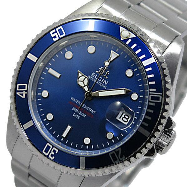 レビュー投稿で次回使える2000円クーポン全員にプレゼント 直送 エルジン ELGIN 自動巻き メンズ 腕時計 FK1405S-BL ブルー 【腕時計 国内正規品】 こちらはショップレビュー5点満点中4.2超えのショップとなります。