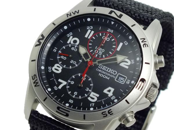 レビュー投稿で次回使える2000円クーポン全員にプレゼント 直送 セイコー SEIKO クロノグラフ メンズ 腕時計 SND399P ブラック 【腕時計 海外インポート品】 こちらはショップレビュー5点満点中4.2超えのショップとなります。