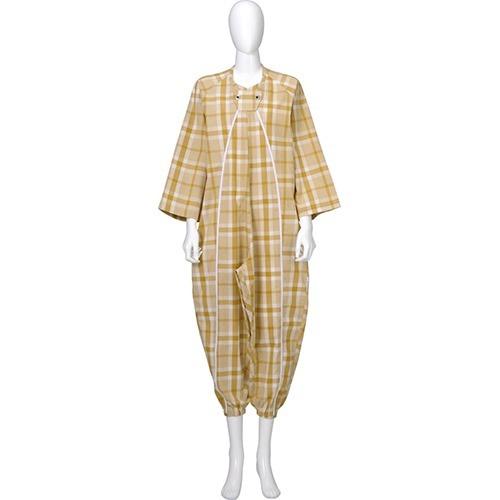 10000円以上送料無料フドーねまき1型スリーシーズン黄S(1枚入)介護介護用衣料品パジャマ・寝巻き