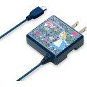 10000円以上送料無料 ディズニー micro USB搭載 スマートフォン用AC充電器 アリス P...
