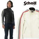 ショット Schott レザー ライダースジャケット クラッシックレーサージャケット シングルライダース 牛革 3181052