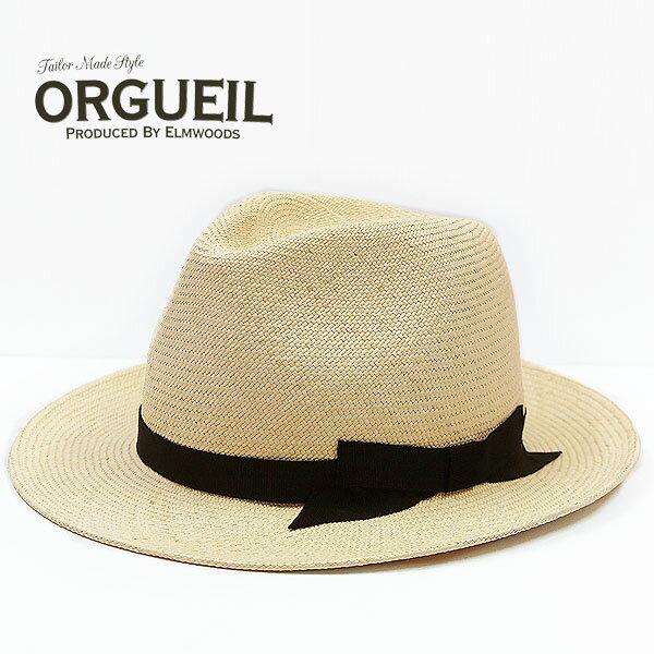 ORGUEIL オルゲイユ パナマハット エクア...の商品画像