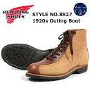 ショッピングレッドウィング REDWING レッドウィング 1920's アウティング ブーツ ホーソーン「ミュールスキナー」&ティーク「フェザーストーン」 Outing Boots Style No.8827