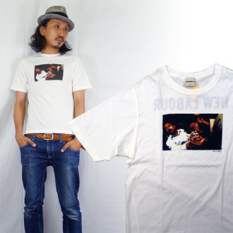 VENICE 베니스 사진 티셔츠 「 NEW LABOUR 」