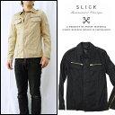 スリック SLICK ミリタリーシャツジャケット