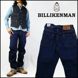 Warehouse WAREHOUSE BILLIKENMAN jeans B-102 back buckle regular straight jeans G bread denim