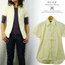 スリック SLICK ロングポイント 半袖シャツ