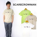SCARE CROWMAN スケアクロウマン ゴーストベアプリントTシャツ