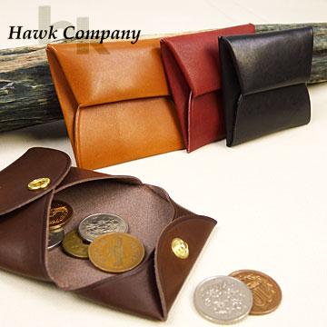 ホークカンパニー HAWK COMPANY レザーコインケース(小銭入れ)