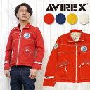 AVIREX アビレックス アヴィレックス ジャケット ミリタリー ジップアップ 長袖 クラシック ビーチ カスタム 6142153