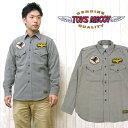 ショッピング長袖 トイズマッコイ TOYS McCOY 長袖シャツ チノシャツ カーキシャツ ワークシャツ THE KONG BUSTERS TMS1420