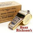 バズリクソンズ Buzz Rickson's ホイッスル 笛 ミリタリー ブラス イギリス・ アクメ社製 ペンダントトップ ジップチャーム アクセサリー F03624 BR02374