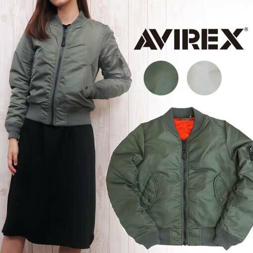 AVIREX アビレックス アヴィレックス レディース MA-1 フライトジャケット ミリタリー 6252038 【2016年 秋冬 新作】