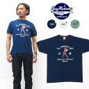 バズリクソンズ BUZZ RICKSON'S 半袖 Tシャツ 「3rd PURSUIT SQN」 プリント MADE IN USA BR78178