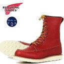 鞋子 - REDWING レッドウィング IRISH SETTER アイリッシュセッター 8インチ モックトゥ ブーツ ワーク 8