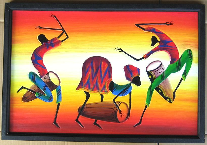 Famous African Paintings