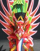 木彫りガルーダミニサイズ☆レッド