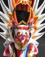 木彫りガルーダミニサイズ☆ホワイト